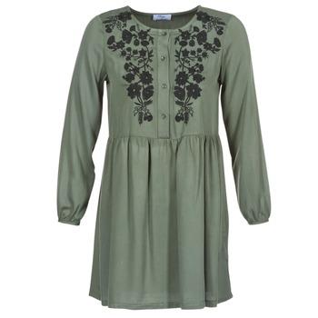 material Women Short Dresses Betty London JARAZA Kaki