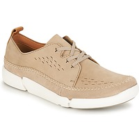Shoes Men Derby shoes Clarks TriFri Lace Sand / Nubuck