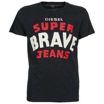 material Men short-sleeved t-shirts Diesel T-ASTERIOS Black