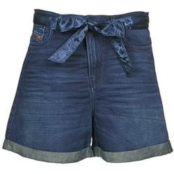 material Women Shorts / Bermudas Diesel DE-KAWAII Blue / Dark