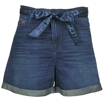 material Women Shorts / Bermudas Diesel DE-KAWAII Blue / Dark