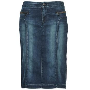 material Women Skirts Diesel DE-TRENKER Blue