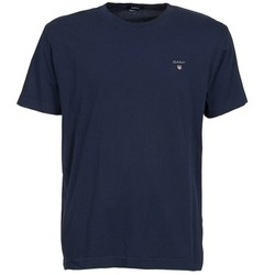 material Men short-sleeved t-shirts Gant SOLID Marine