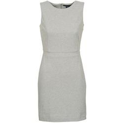 material Women Short Dresses Gant L. JERSEY PIQUE Grey