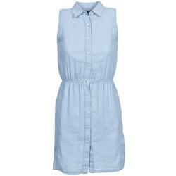 material Women Short Dresses Gant O. INDIGO JACQUARD Blue