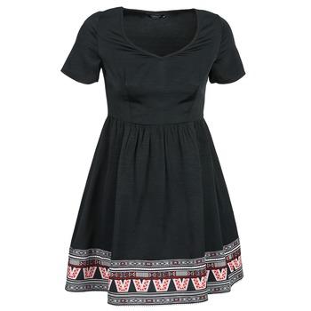 material Women Short Dresses Eleven Paris NANA Black