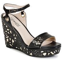 Shoes Women Sandals Elue par nous RIAZONE Black