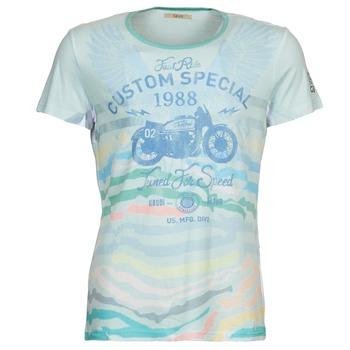 material Men short-sleeved t-shirts Gaudi ABHIJVALA Blue