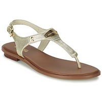 Shoes Women Sandals MICHAEL Michael Kors MK PLATE Gold