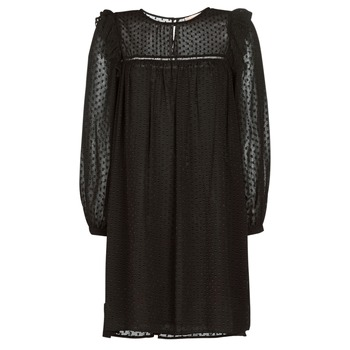 material Women Short Dresses Moony Mood BREYAT Black