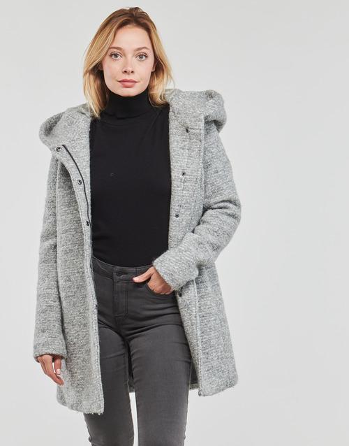 material Women coats Only ONLSEDONA Grey