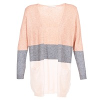 material Women Jackets / Cardigans Only ONLQUEEN Pink / Grey