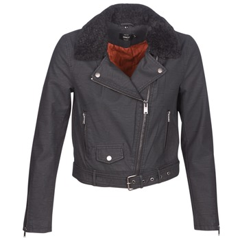 material Women Leather jackets / Imitation le Only ONLCAROL Black