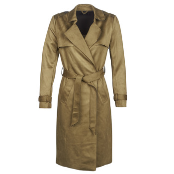 material Women Trench coats Only ONLRIBA Kaki
