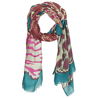 Clothes accessories Women Scarves André ALEXINA Lie / De / Vin