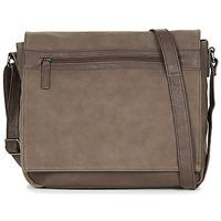 Bags Men Shoulder bags André PAT Brown