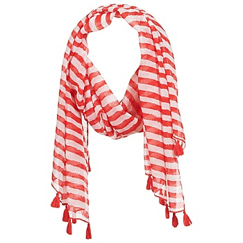 Clothes accessories Women Scarves André DOVA White / Red