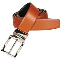 Clothes accessories Men Belts André VICTOR Camel