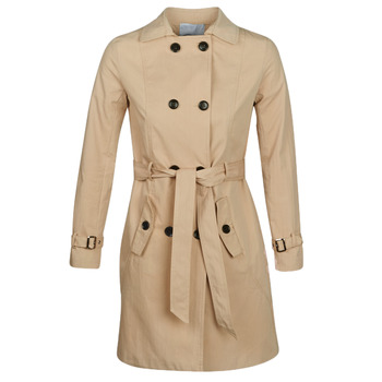 material Women Trench coats Betty London JIVELU Beige