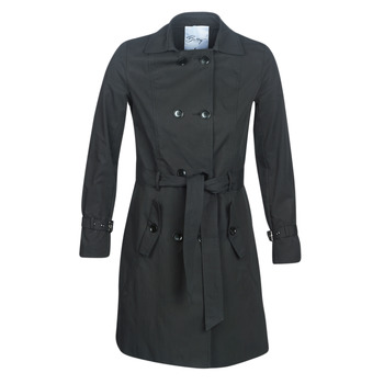 material Women Trench coats Betty London JIVELU Black