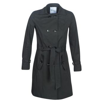 material Women Trench coats Betty London JIVELU Black