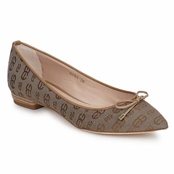 Shoes Women Ballerinas Alberto Gozzi TINA TESSY Brown