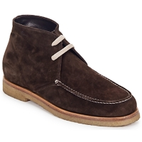 Shoes Women Mid boots Swamp POLACCHINO SU Brown / Dark