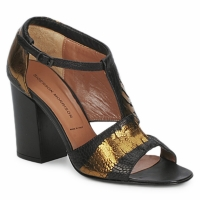 Shoes Women Sandals Sigerson Morrison STRUZZO Black / Bronze