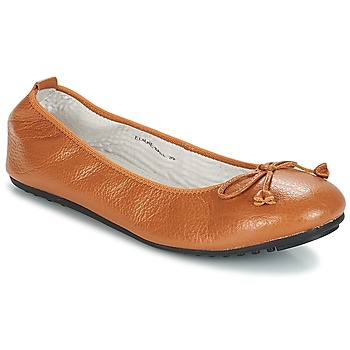 Shoes Women Ballerinas Mac Douglas ELIANE Chestnut