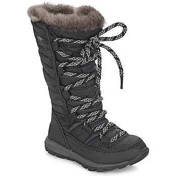 Shoes Children Snow boots Sorel CHILDREN'S WHITNEY™ LACE  black
