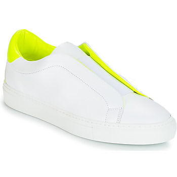 Shoes Women Low top trainers KLOM KISS White / Yellow