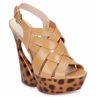 Shoes Women Sandals Casadei MAGGY Sweet / Natural