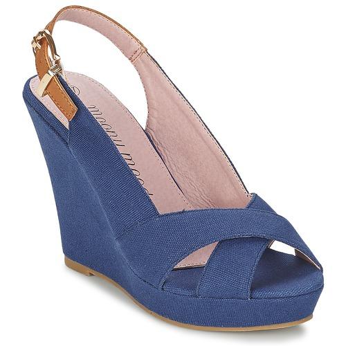 Shoes Women Sandals Moony Mood AKOLM Marine