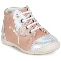 Shoes Girl High top trainers GBB VERONA Pink