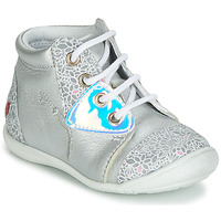 Shoes Girl High top trainers GBB VERONA Silver
