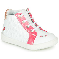 Shoes Girl High top trainers GBB FAMIA Vte / Coral white / Dpf / Messi