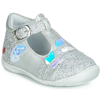 Shoes Girl Ballerinas GBB MERTONE Silver