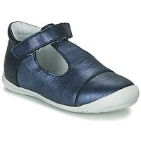 Shoes Girl Ballerinas GBB MERCA Vte / Marine / Dpf / Kezia