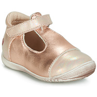 Shoes Girl Ballerinas GBB MERCA Pink / Gold
