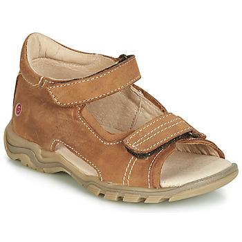 Shoes Children Sandals GBB PARMO Brown