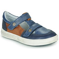 Shoes Boy Low top trainers GBB VARNO Marine-fauve / Dpf / 2706