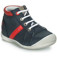 Shoes Boy High top trainers GBB TARAVI Marine / Red