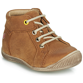 Shoes Boy High top trainers GBB PARGA Cognac