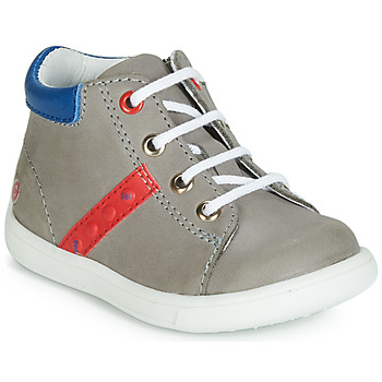 Shoes Boy High top trainers GBB FOLLIO Grey / Blue