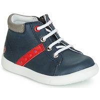 Shoes Boy High top trainers GBB FOLLIO Marine / Red