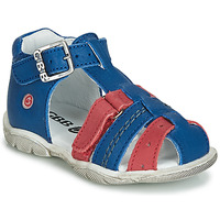 Shoes Boy High top trainers GBB ARIGO Vte / Blue-red / Dpf / Filou