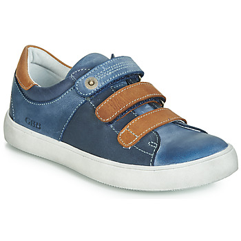 Shoes Boy Low top trainers GBB POMMOR Blue / Brown