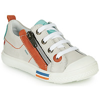 Shoes Boy Low top trainers GBB STELLIO Vte / Orange / Dpf / Lucky