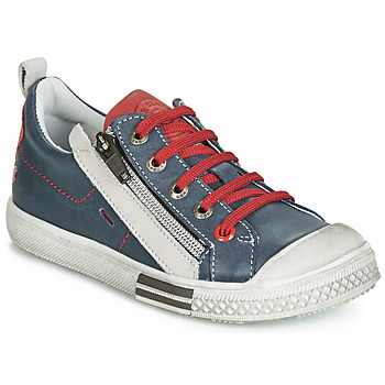 Shoes Boy Low top trainers GBB STELLIO Marine / Red