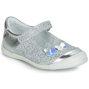 Shoes Girl Ballerinas GBB SACHIKO Silver